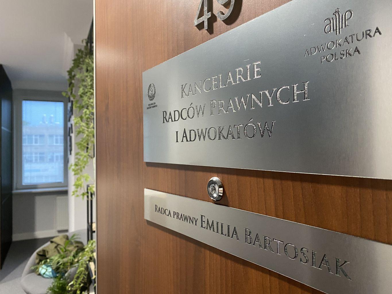Kancelaria Bartosiak Emilia Bartosiak Radca Prawny